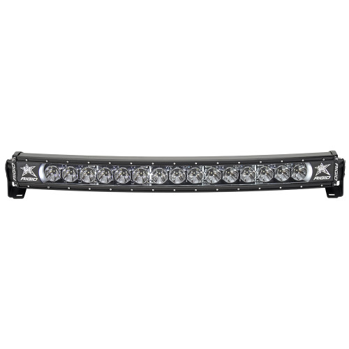 """RIGID Industries RADIANCE+ 30"""" Curved - White Backlight - Black Housing [33000]"""