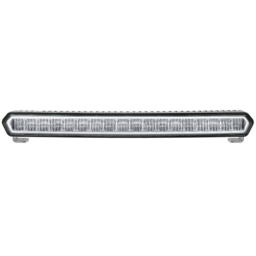 "RIGID Industries SR-L Series Marine 20"" Black LED Lightbar - White Light w\/White Halo [62100]"