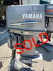 """2009 Yamaha 90 HP 3 Cyl Carbureted 2-Stroke 20"""" (L) Outboard Motor"""