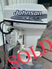 """2001 Johnson 40 HP 2-Cylinder Carb 2-Stroke 20"""" (L) Outboard Motor"""