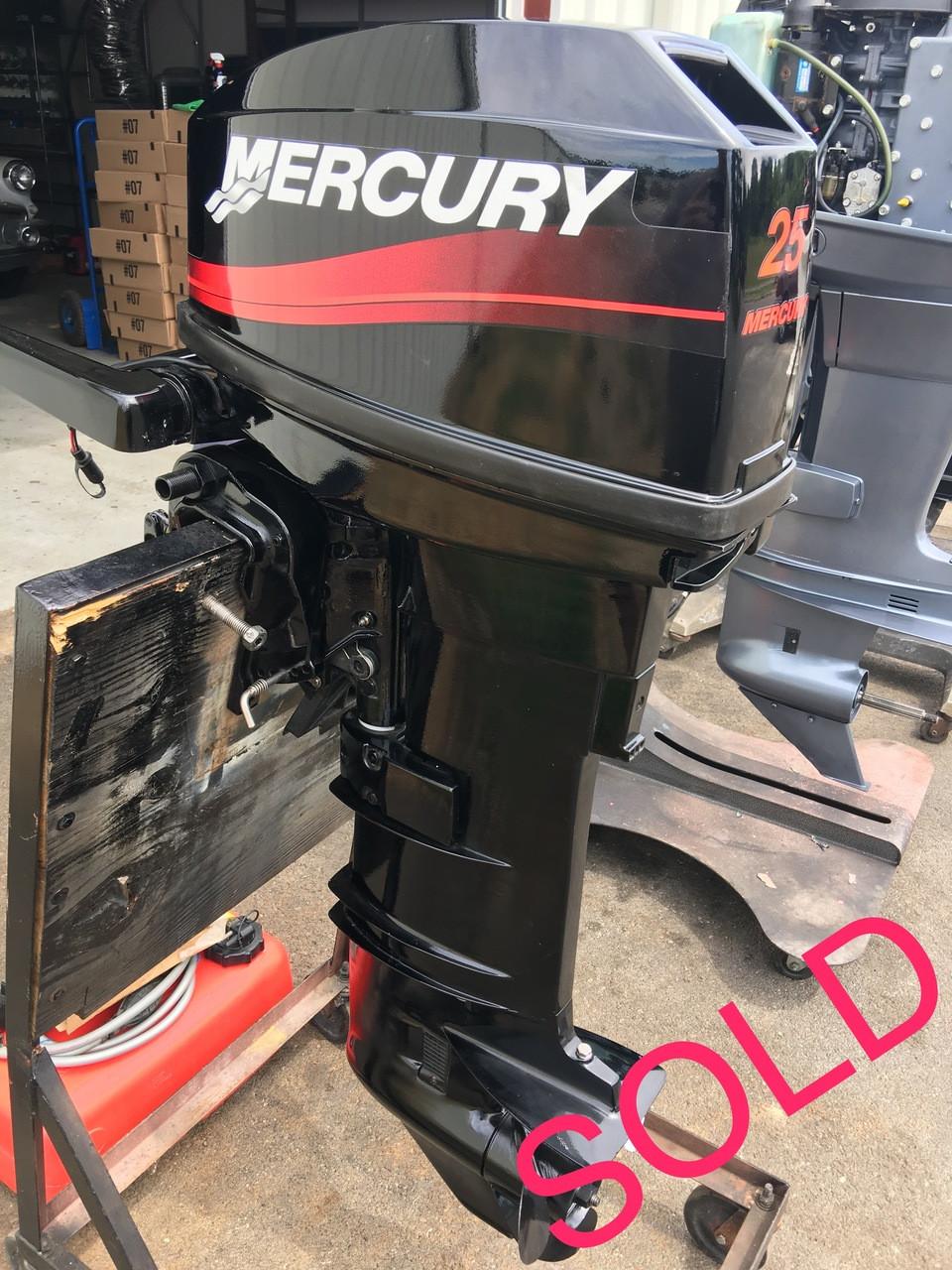 Mercury 25 hp outboard 2 stroke manuals