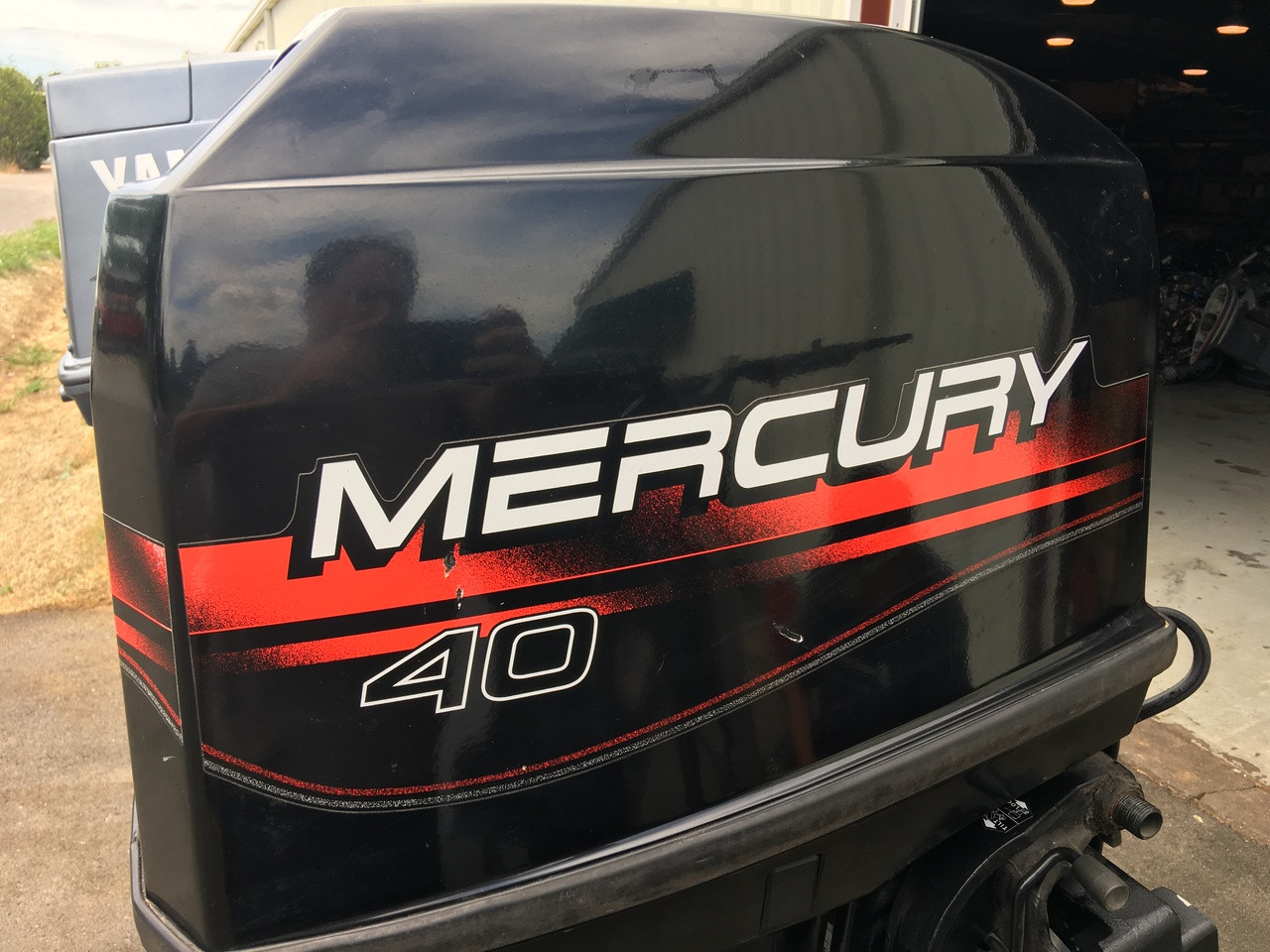 1997 Mercury 40 Hp 4 Cylinder 2