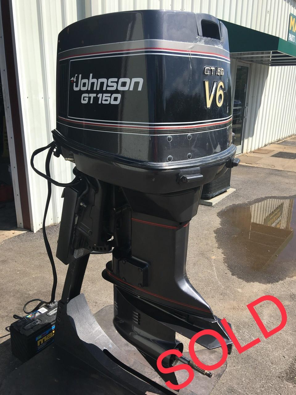 1989 Johnson GT150 V6 Carbureted 2-Stroke 20