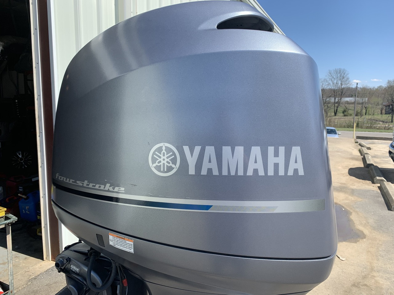 "2011 Yamaha 150 HP 4 Cylinder EFI 4 Stroke 20"" Outboard Motor"