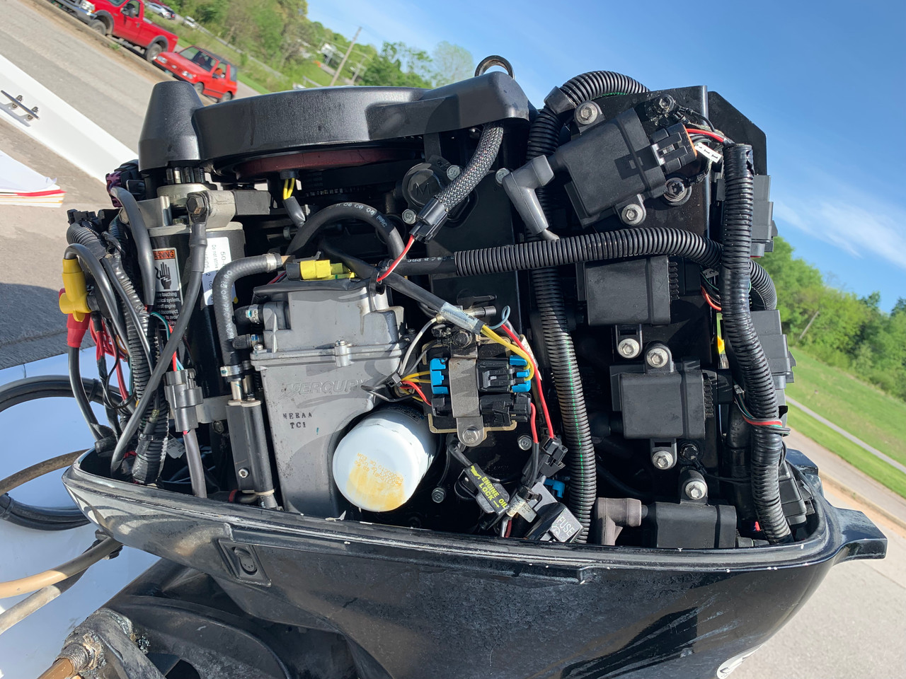 2006 Tracker Nitro 640LX 16' Fiberglass Bass Boat with Mercury 60 HP Outboard Motor and Trailer