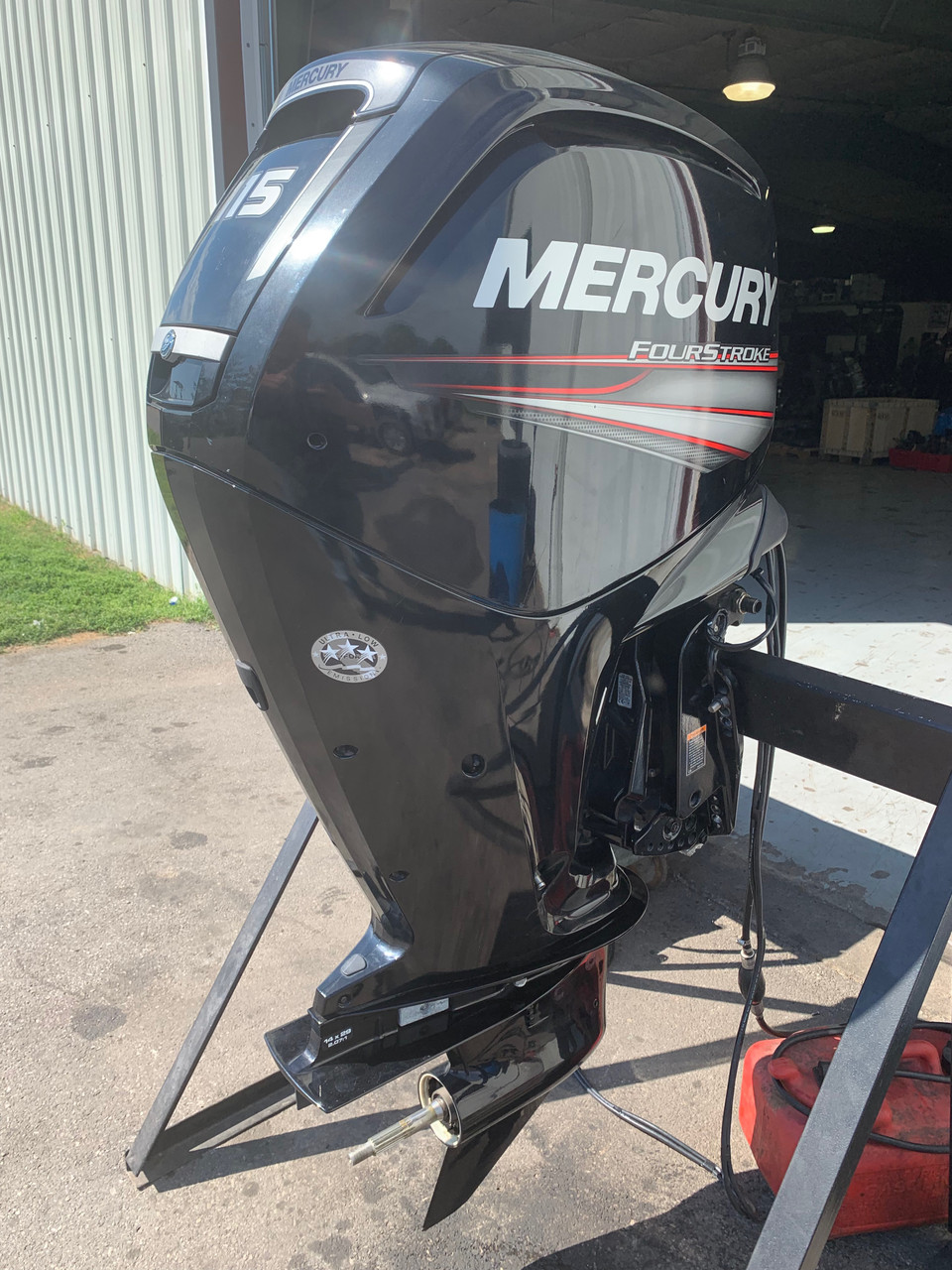 "2015 Mercury 115 HP 4 Cylinder 4 Stroke 20"" Outboard Motor"