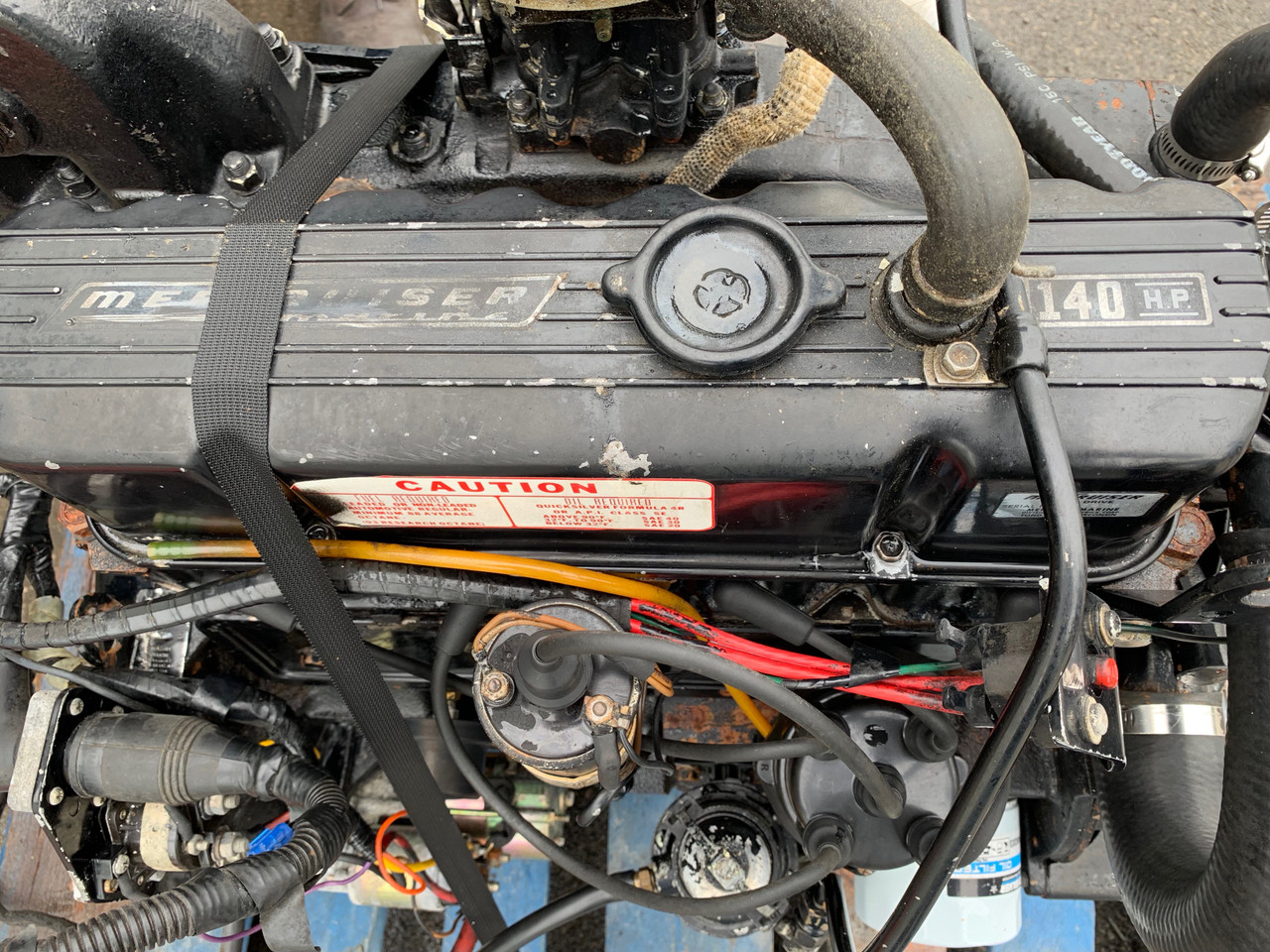 1977 MerCruiser 3.0L 140 HP 4-Cylinder Inboard Motor