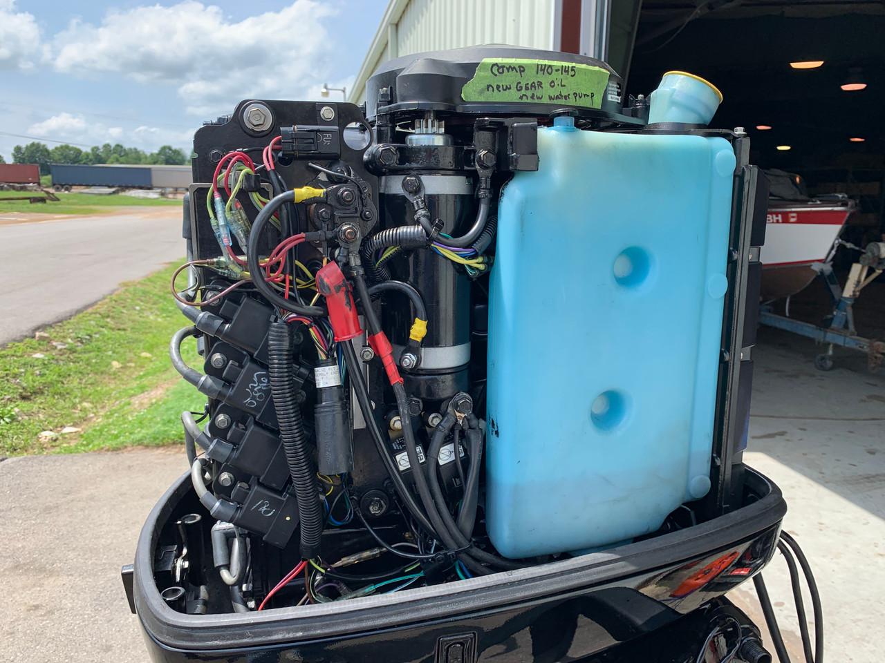 "2001 Mercury 125 HP 4 Cylinder Carbureted 2 Stroke 20"" (L ..."