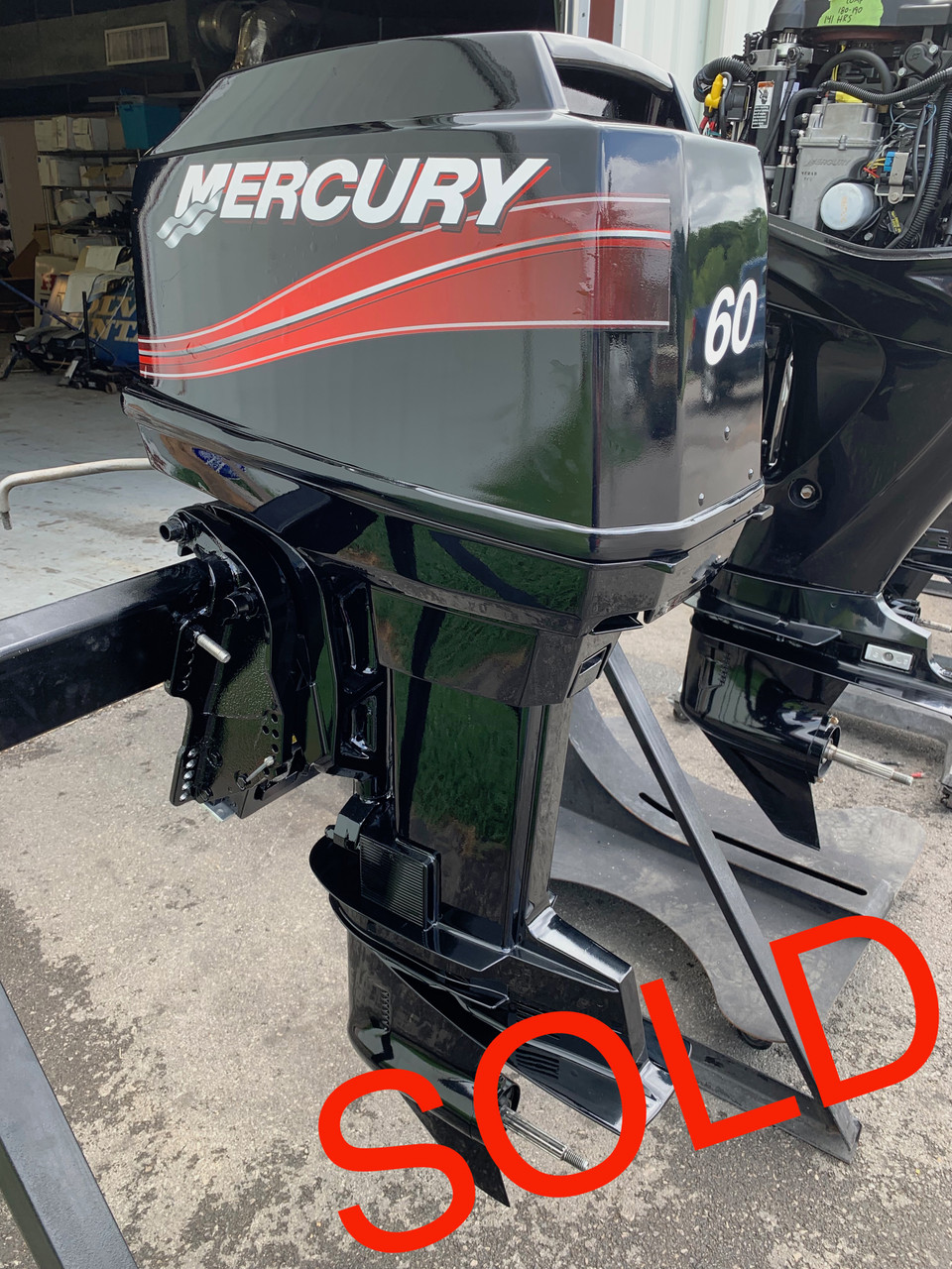 "1995 Mercury 60 HP 3 Cylinder 2 Stroke 20"" (L) Outboard Motor"