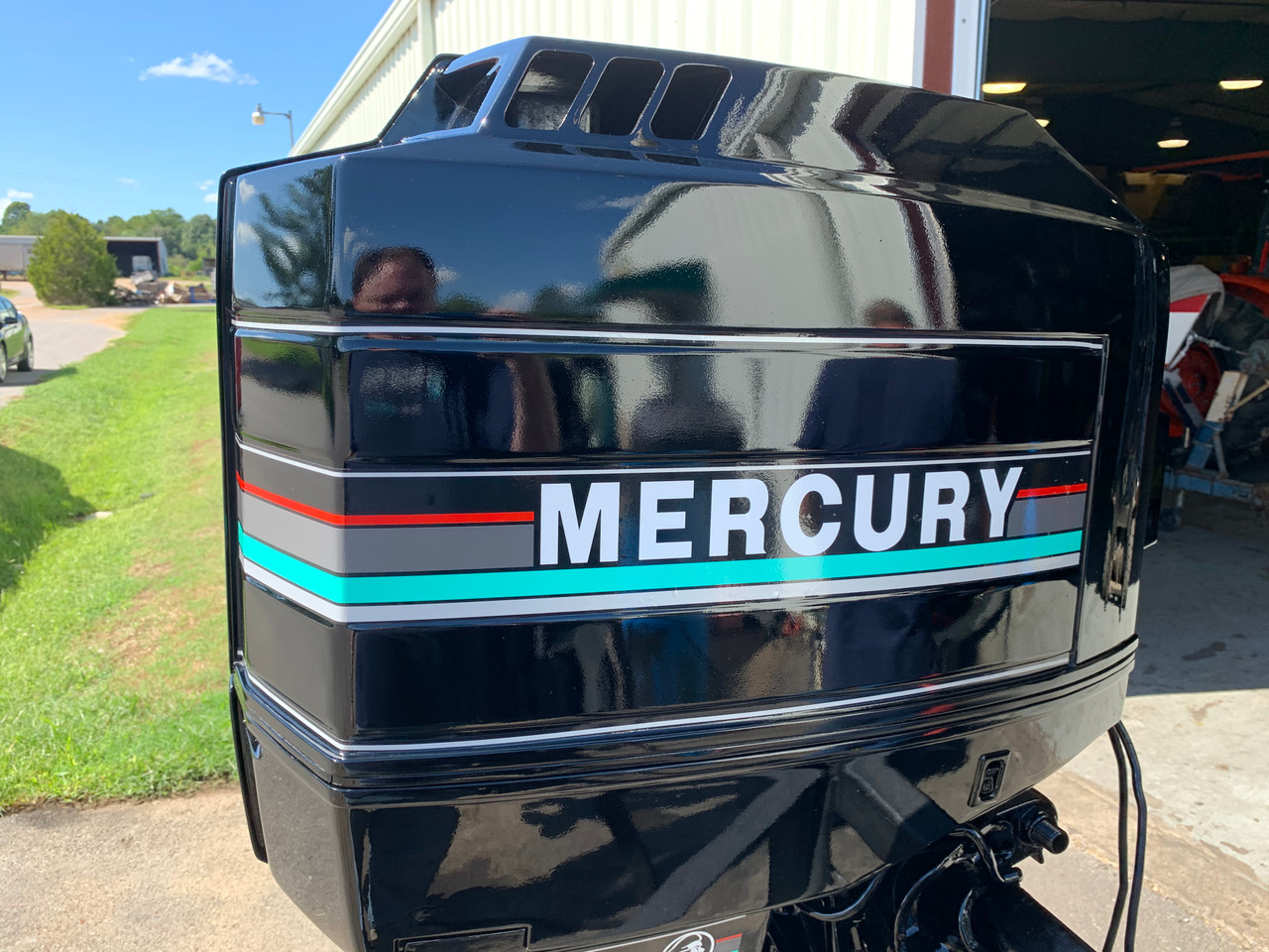 "1993 Mercury Black Max 175 HP V6 Carbureted 2 Stroke 20"" (L) Outboard Motor"