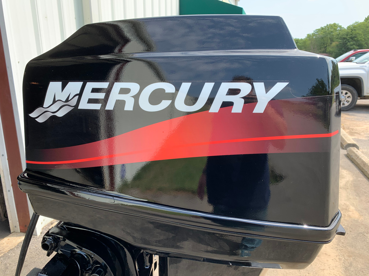 "2001 Mercury 60 HP 3 Cylinder Carbureted 2 Stroke 15"" (S) Outboard Motor"