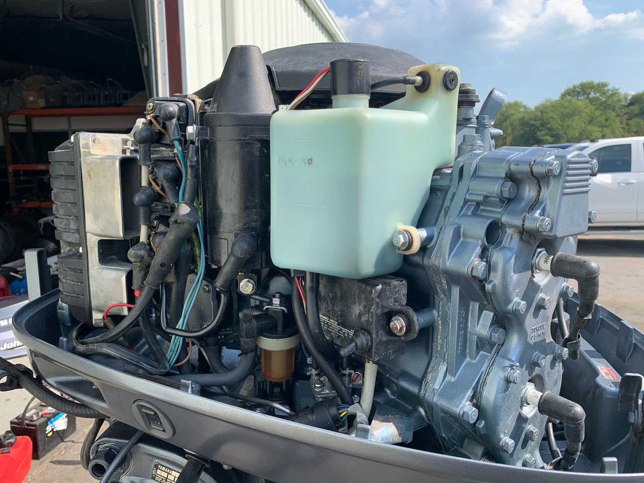 1986 Yamaha 115 Hp V4 Carbureted 2 Stroke 20 U0026quot   L  Outboard