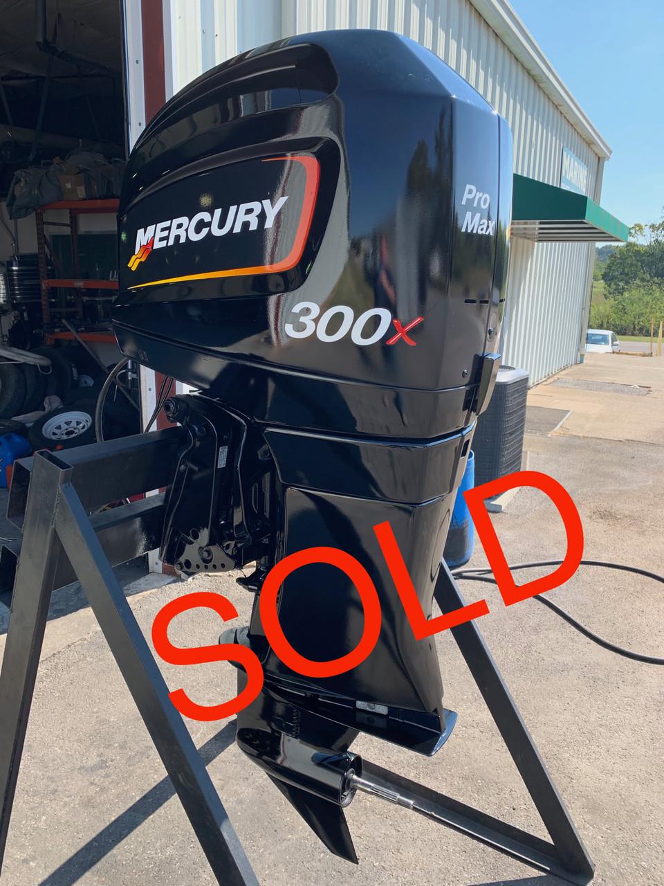 "2001 Mercury Pro Max Racing 300x HP V6 EFI 2 Stroke 25"" (X) Outboard Motor"