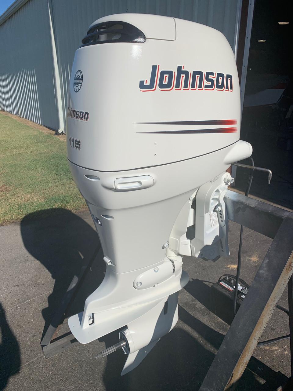 "2004 Johnson/Suzuki 115 HP 4 Cylinder EFI 4 Stroke 20"" (L) Outboard Motor"