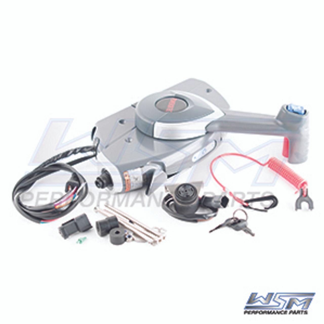 WSM Brand CONTROL BOX ASSEMBLY JOHNSON / EVINRUDE E-TEC / FICHT