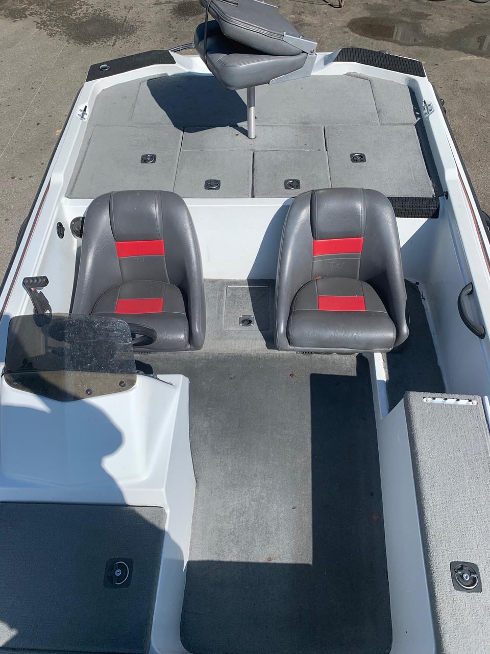 2003 Aries 181 18' Fiberglass Bass Boat with Trailer