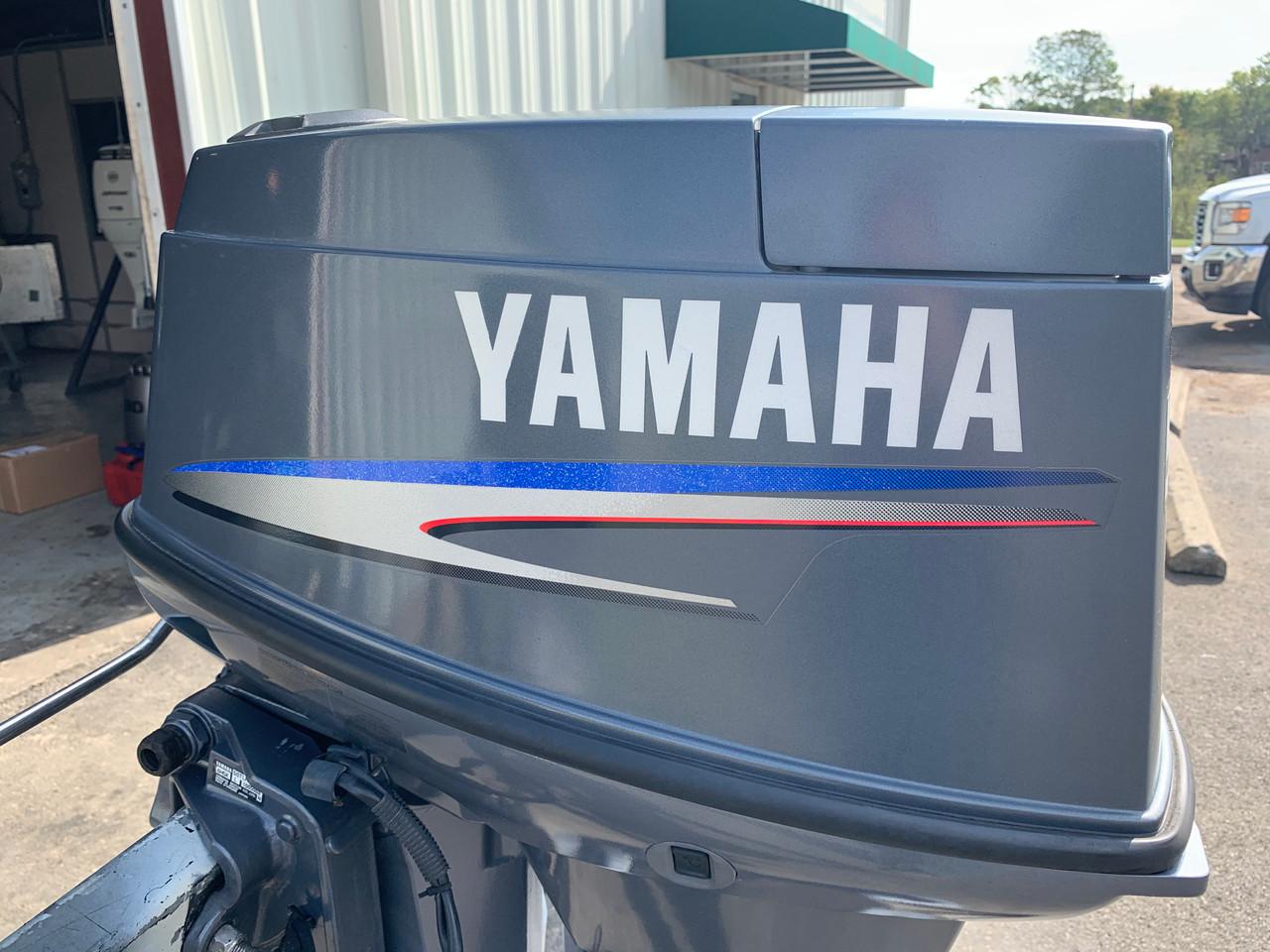 "2005 Yamaha 50 HP 3 Cylinder Carbureted 2 Stroke 20"" (L) Outboard Motor"