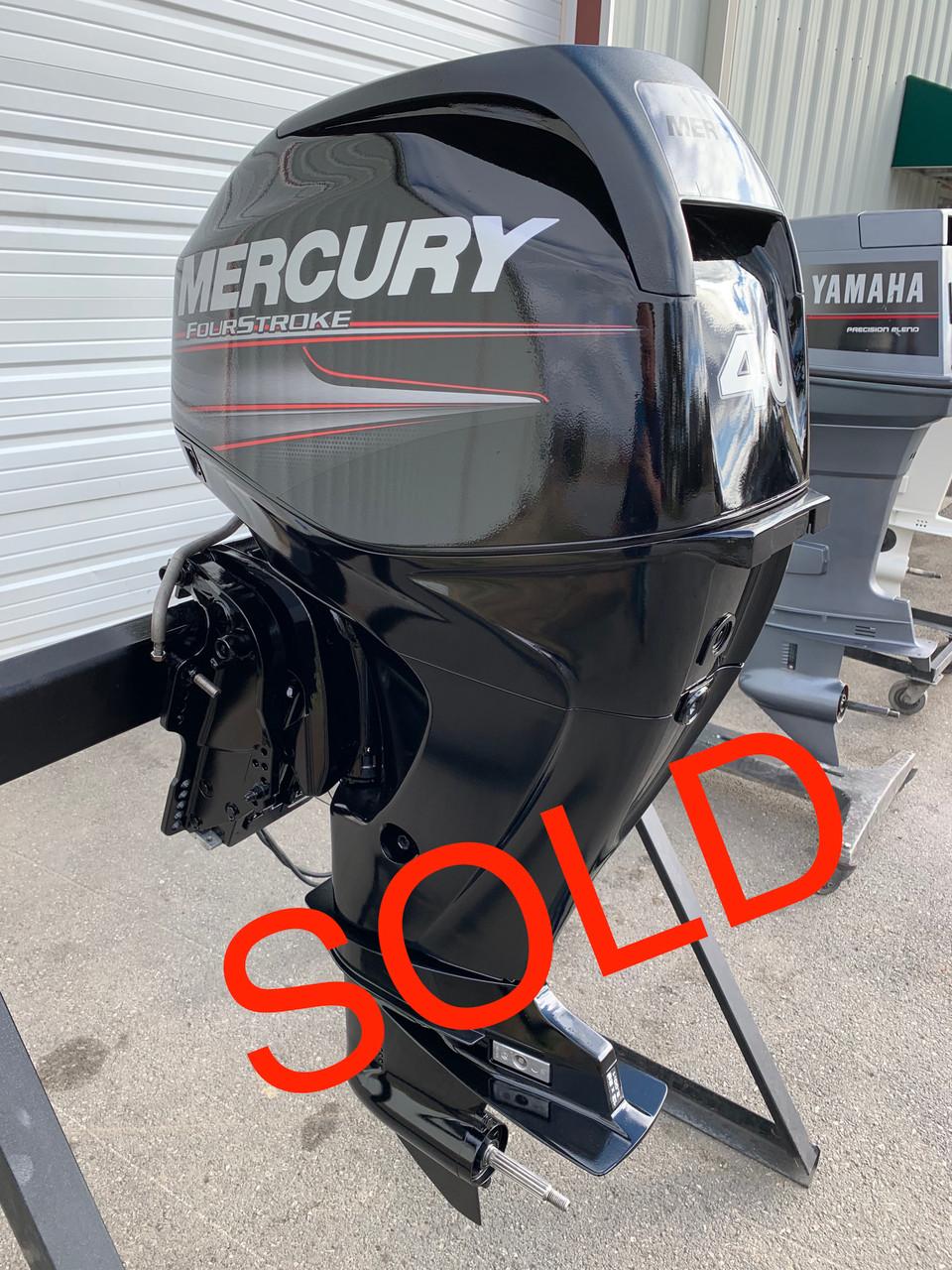 "2012 Mercury 40 HP 3 Cylinder EFI 4 Stroke 20"" (L) Outboard Motor"