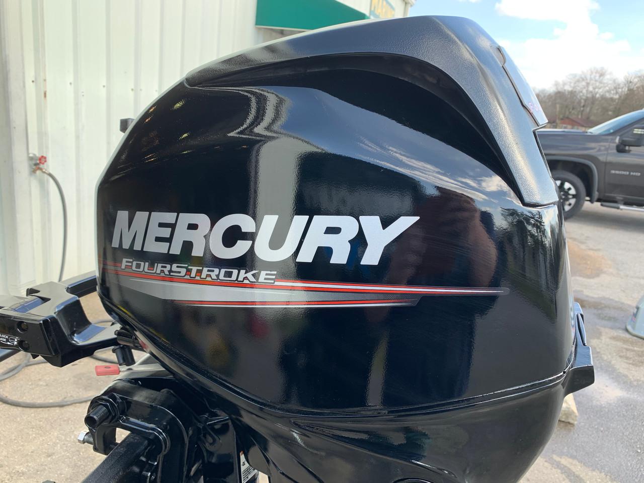 """2006 Mercury 25 HP 3 Cylinder EFI 4 Stroke 15"""" (S) Tiller Outboard Motor"""