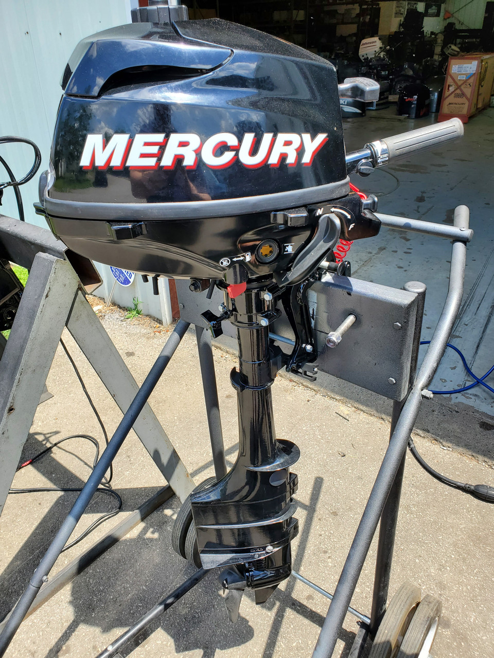 "2012 Mercury 3.5 HP Single Cylinder Carbureted 4 Stroke 20"" (L) Outboard Motor"