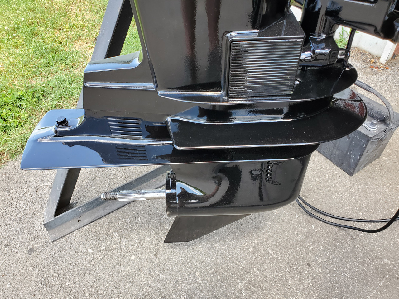 """1993 Mercury 75 HP 3 Cylinder Carbureted 2-Stroke 20"""" (L) Outboard Motor"""