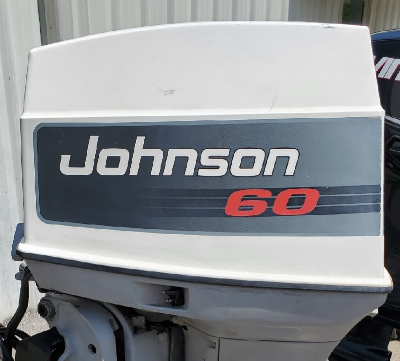 "1984 Johnson 70 HP 3-Cylinder Carbureted 2-Stroke 20"" (L) Outboard Motor"