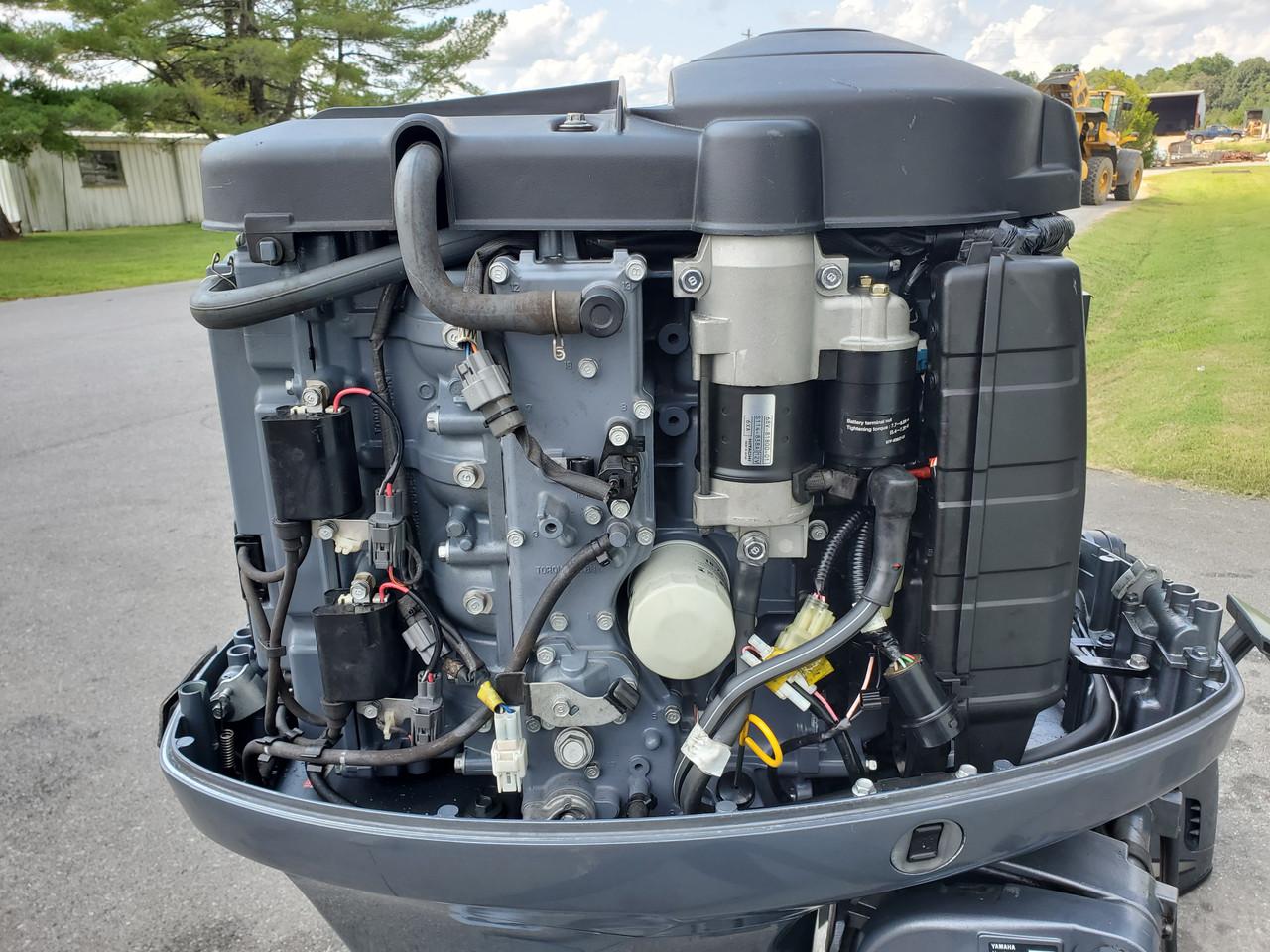 "2007 Yamaha 115 HP 4-Cylinder EFI 4-Stroke 20"" (L) Outboard Motor"