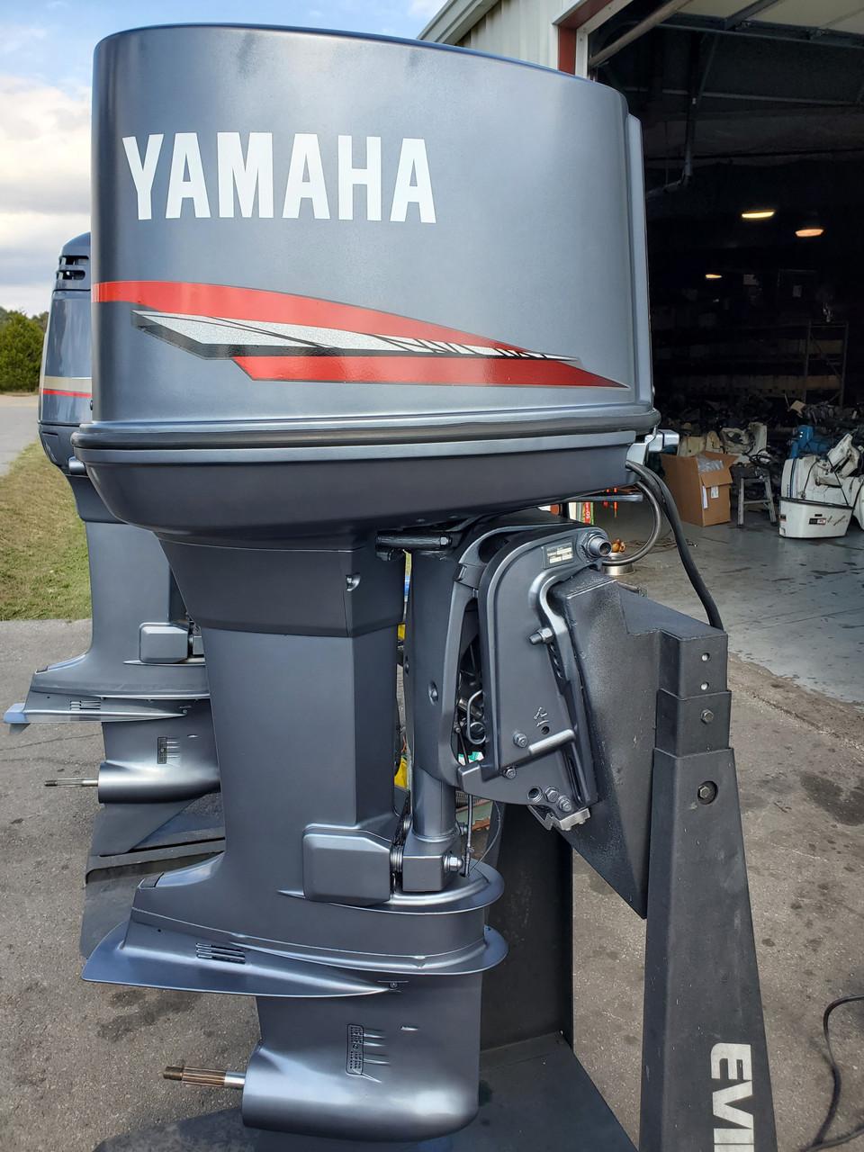 "1989 Yamaha 150 HP V6 Carbureted 2-Stroke 25"" (X) Outboard Motor"