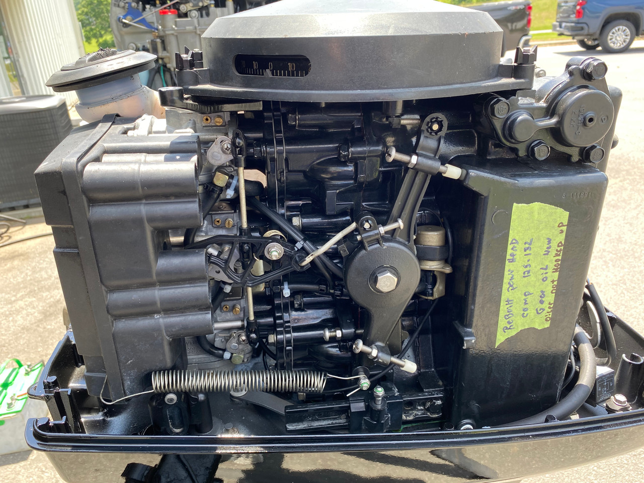 """1997 Mercury 60 HP 3-Cylinder Carb 2-Stroke 20"""" (L) Outboard Motor"""