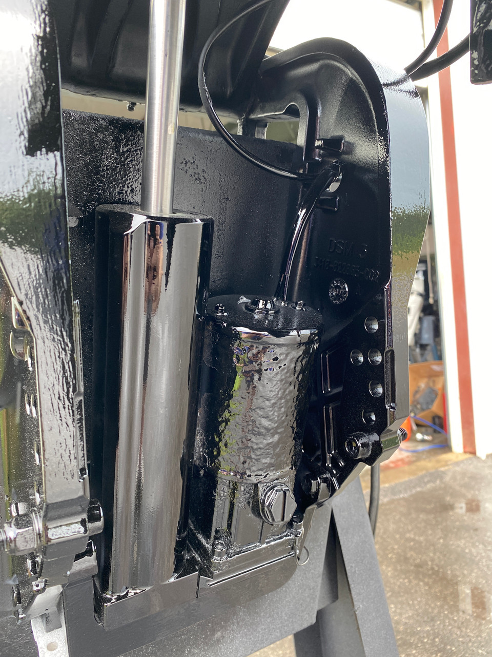 "2007 Mercury 60 HP 4-Cylinder EFI 4-Stroke 20""(L) Outboard Motor"