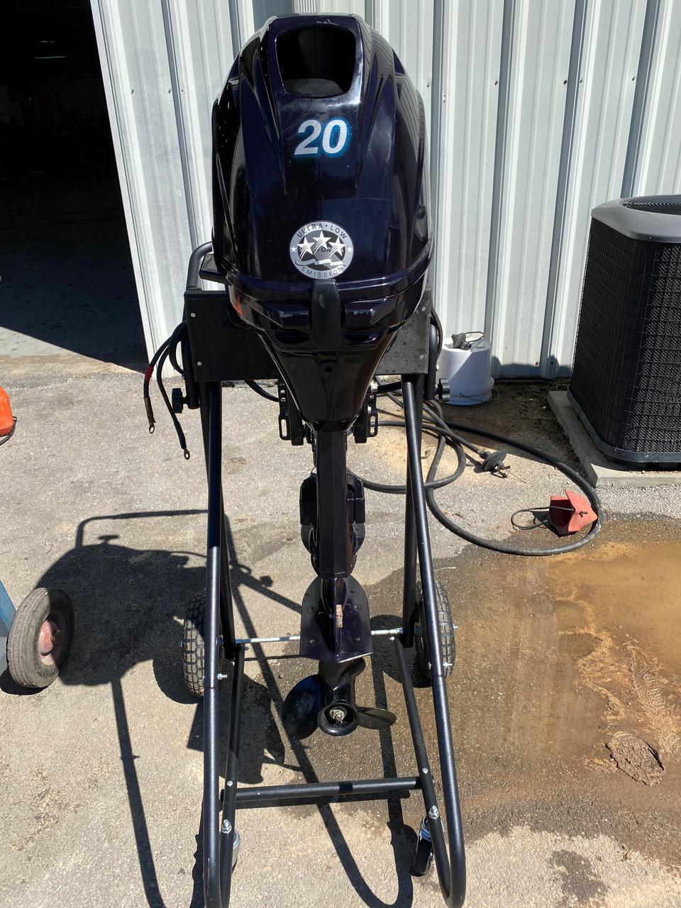 "2017 Tohatsu 20 HP 2-Cyl EFI 4-Stroke 20"" (L) Outboard Kicker Motor"