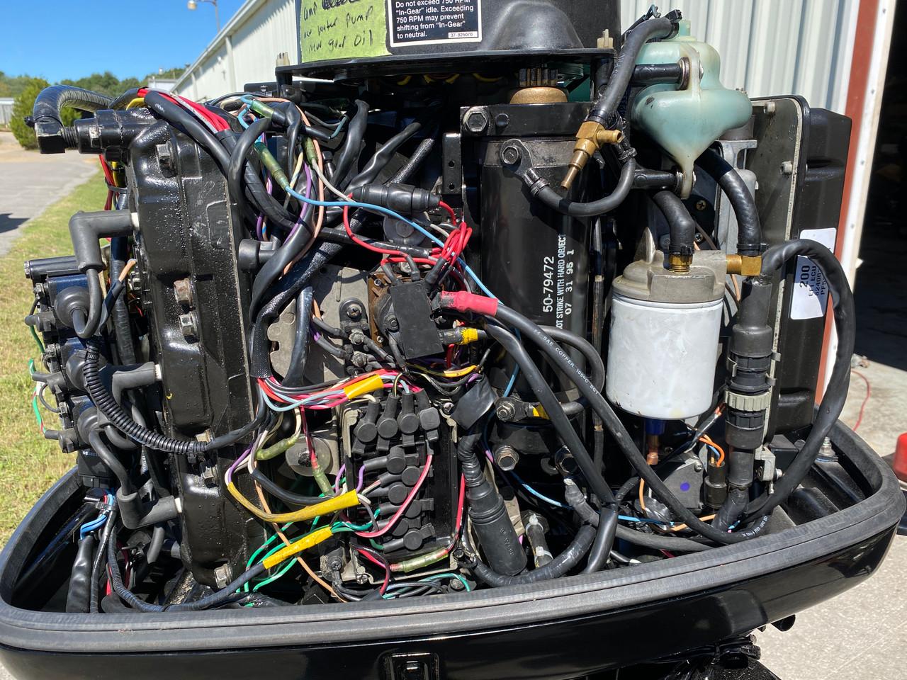 "1997 Mercury 200 HP 6-Cylinder EFI 2-Stroke 20"" (L) Outboard Motor"