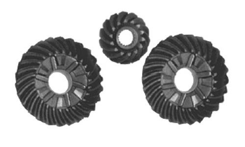New Red Rhino Mercury/Mariner 150-200 HP V6 2.0/2.4/2.5L 1.87 Gear Set [1998 and Up, Replaces OEM 43-828175A, 43-878613A2]