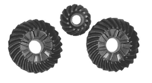New Red Rhino Mercury/Mariner 200 DFI-250 HP V6 3.0L 1.75 Gear Set [1994 and Up] [Replaces OEM# 43-859322A1, 43-859321A3]