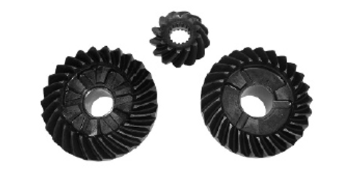 New Red Rhino Yamaha 90 HP 3-CYL 2-Stroke Gear Set [1988-2006] [Replaces OEM 688-45560-00/688-45551-01/6H1-45571-01]
