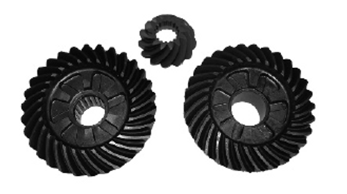 New Red Rhino Yamaha 75-100 HP 4-Stroke Gear Set [1999-2010, Replaces OEM 67F-45560-00/6D9-45571-00/6D9-45551-00]