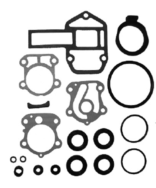 New Red Rhino Yamaha 75-100 HP 4-Stroke Lower Unit Seal Kit [1999-2010] [Replaces OEM 688-W0001-20-00]