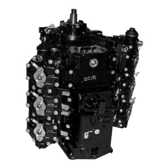 Remanufactured Johnson/Evinrude 200HO/225/250 HP 3.3L ETec V6 Powerhead, 2005-AB