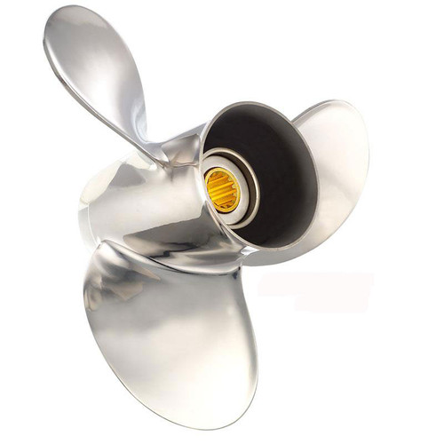 New 8-15 HP Solas Saturn Stainless Propeller