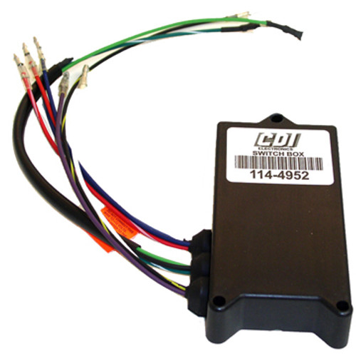 New CDI Chrysler / Force 2 Cylinder 1992-1995 40 & 50 HP Switch Box/Ignition Pack