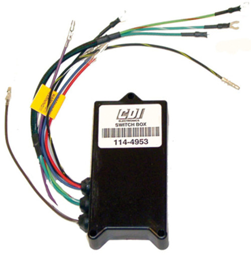 New CDI Chrysler / Force 3 Cylinder 1994-1995 65 Jet, 70, 75 & 90 HP Switch Box/Ignition Pack