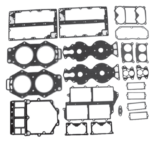 New Red Rhino Yamaha 4 CYL 115/130 HP Powerhead Gasket Set [1984-2006] [Replaces OEM# 643-W0001-04-00]