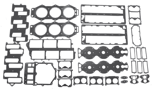 New Red Rhino Yamaha V6 2.6L 150-225 HP Powerhead Gasket Kit [1984-2003] [Replaces OEM# 665-W0001-03-00]