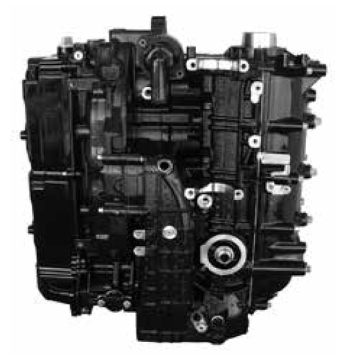 Remanufactured Mercury/Mariner 75/90/115 HP 4-CYL 4-Stroke Longblock, 2007-2014