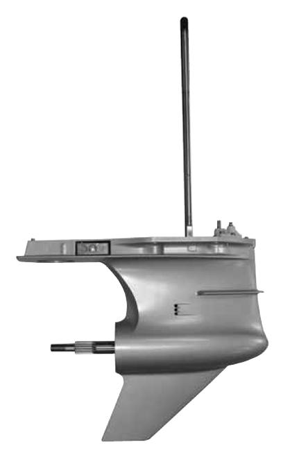Remanufactured Mercury 225/250 HP PRO XS V6 3.0L TorqueMaster 2 Lower Unit, 2013-2018