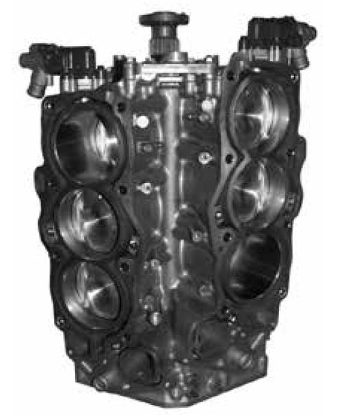 Remanufactured Yamaha F225/250/300 HP 4.2L V6 Short Block, 2010-2020
