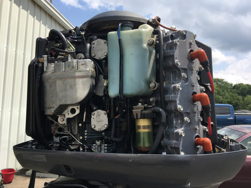 "2001 Yamaha V225 Saltwater Series II OX66 Fuel Injection 3.1L V6 2-Stroke 30"" Outboard Motor"