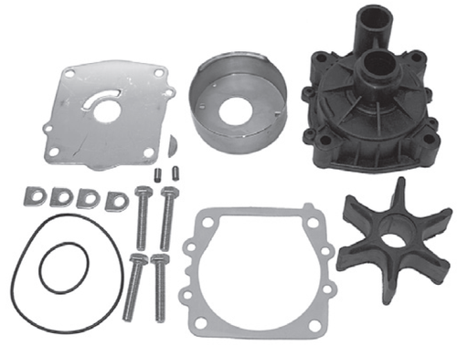New Red Rhino Yamaha 115/130 HP 4 Cylinder Water Pump Kit [1985-2008] [Replaces OEM 6N6-W0078-01-00]