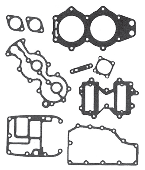 New Red Rhino Johnson/Evinrude 2 CYL 40-60 HP Powerhead Gasket Set [1978-2005] [Replaces OEM 439083]
