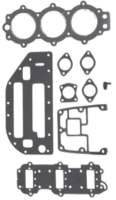 New Red Rhino Johnson/Evinrude 3 CYL 60/70 HP Big Bore Powerhead Gasket Set [Replaces OEM 438904]